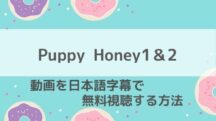 Puppy Honey1&2の日本語字幕付き動画配信をep1から視聴する方法!OffGunカップル主演ハピハニの2021年最新配信情報もお届け!